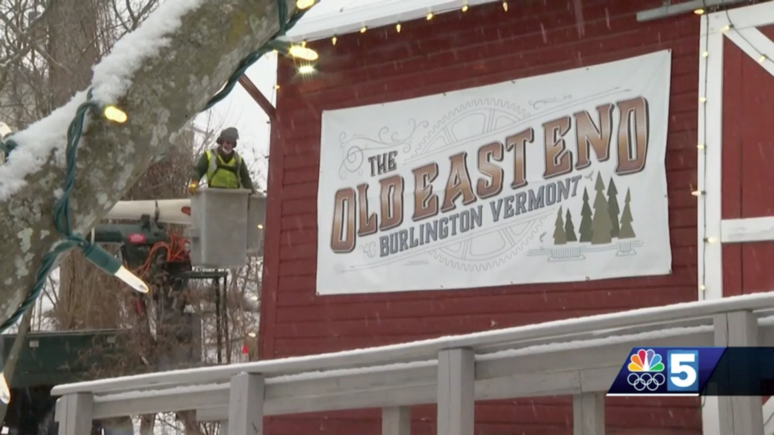 WPTZ NBC5 covers the Old East End's community building efforts